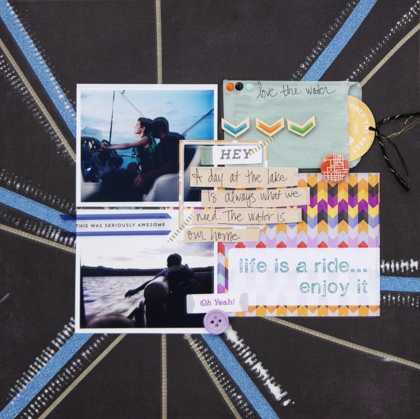 @tyrababington @CliqueKits, #ckdesignteam #DIY #cliquekits #scrapbookkit #scrapbooking #masqueradeball #octoberkit #projectlife #cards #layout #inspiration #new #varsityteam