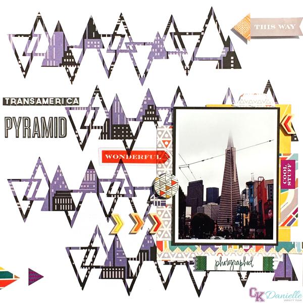 TransamericaPyramid, @Danielle de Konink, @Cliquekits, #cliquekits #scrapbooking #DIY #ckmasqueradeball