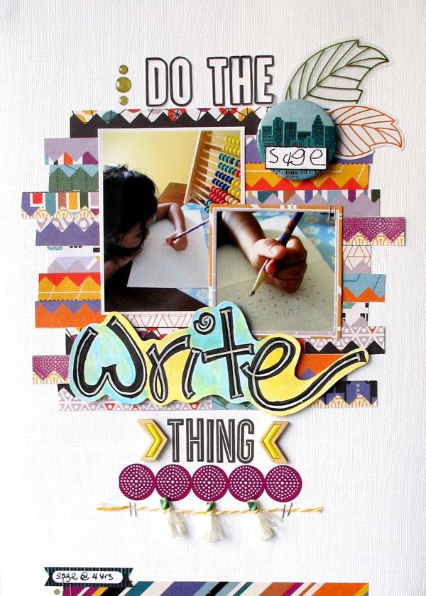 Do the Write Thing, @Colortypes Sophie @cliquekits, #cliquekits #scrapbooking #DIY #masqueradeball