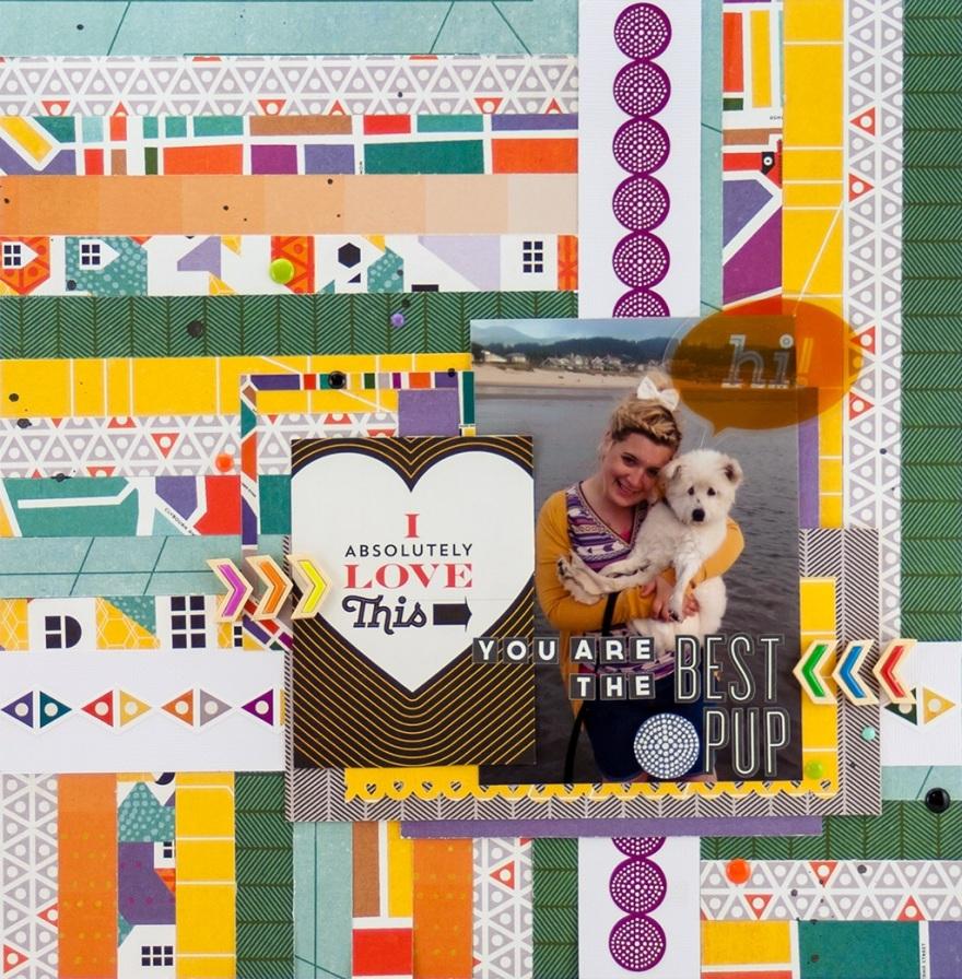@alliestewart @cliquekits, #cliquekits #inspiration #DIY #ckdesignteam #scrapbook #card #basicgrey #secondcity