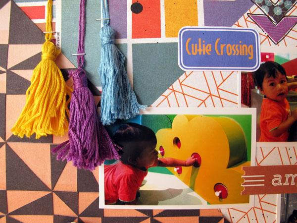 Little Day Out @Colortypes Sophie @cliquekits, #cliquekits #scrapbooking #DIY #masqueradeball
