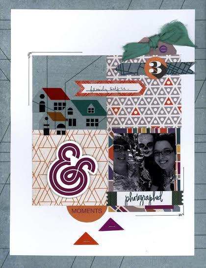 @nicolemartel @cliquekits, #cliquekits #basicgrey #secondcity #inspiration #scrapbook #card #papercraft #ckdesignteam