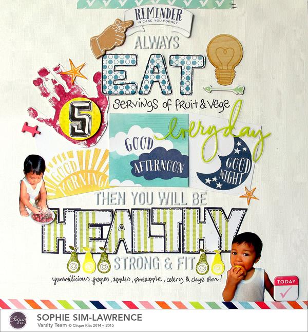 5 Servings, @Colortypes Sophie @ Cliquekits, #cliquekits #scrapbooking #DIY #CKenchantedmeadow