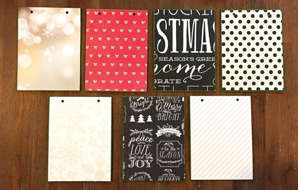 ChristmasMiniAlbum, @Danielle de Konink, @Cliquekits, #cliquekits #scrapbooking #DIY #cliqueintotheholidays