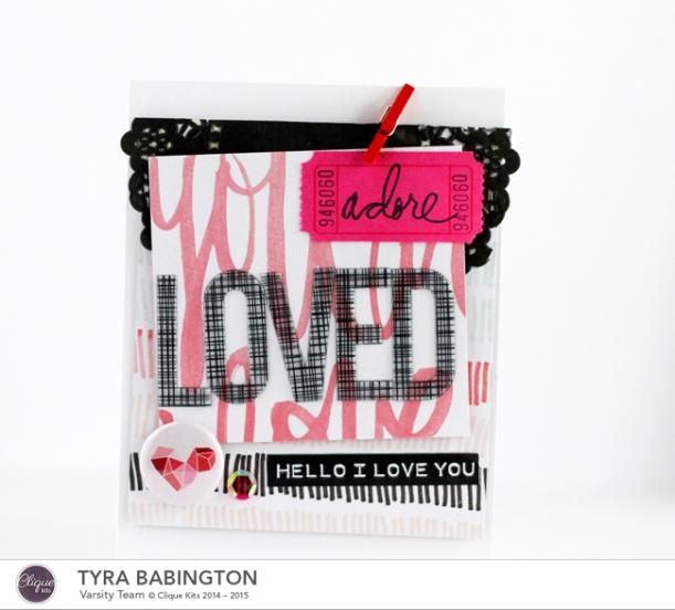 LOVED Card Clique Kits 72 dpi Tyra Babington