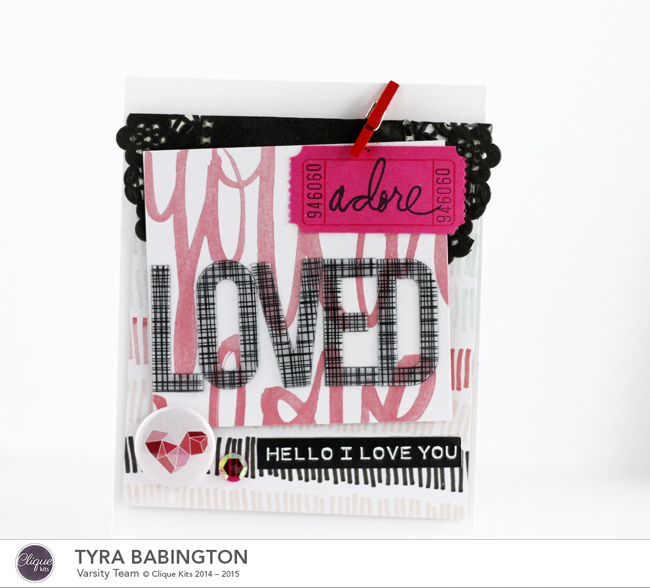 LOVED Card Clique Kits 72 dpi Tyra Babington