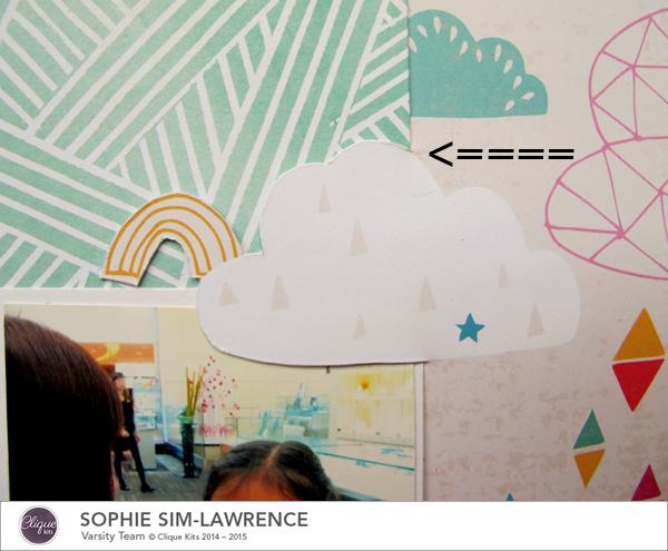 Happy 2015 3 words, @Colortypes Sophie @Cliquekits, #cliquekits #scrapbooking #DIY #ckhappyeverything