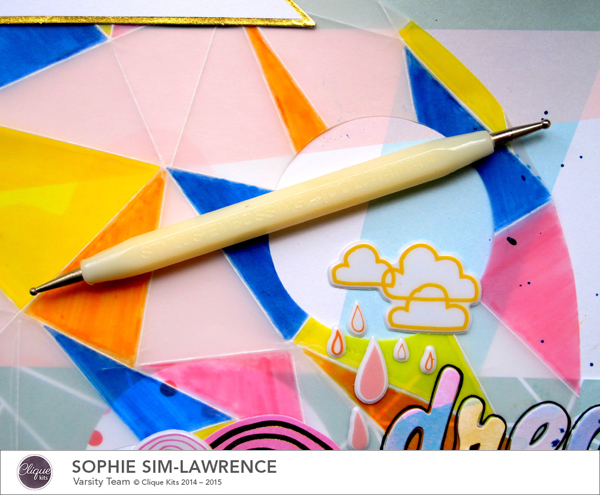 Dream Artist Stylus,  @colortypes sophie @cliquekits, #cliquekits #scrapbooking#DIY #ckhappyeverything