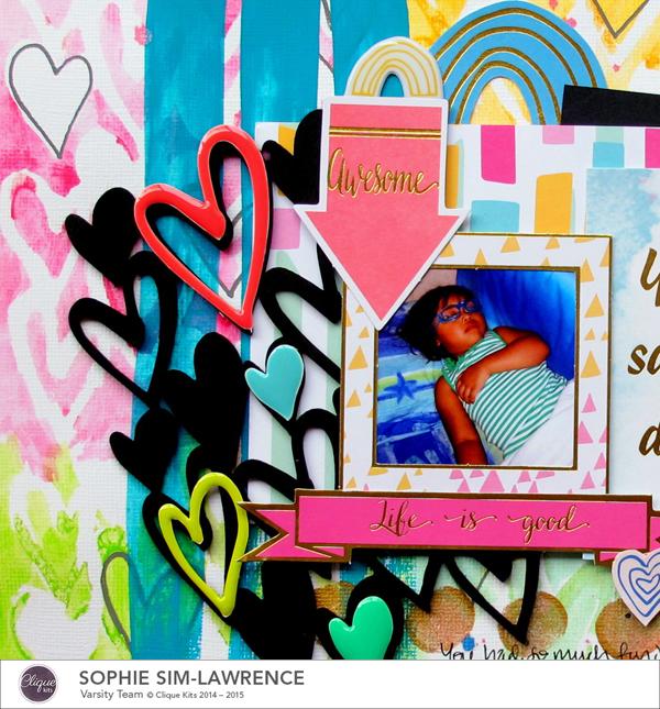 Dreamer 1, @colortypes sophie @cliquekits, #cliquekits #scrapbooking#DIY #ckhappyeverything