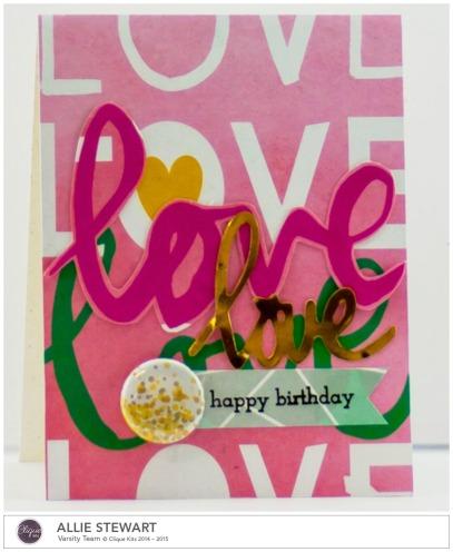 Love_Pinkfresh Studio_Allie Stewart_Card