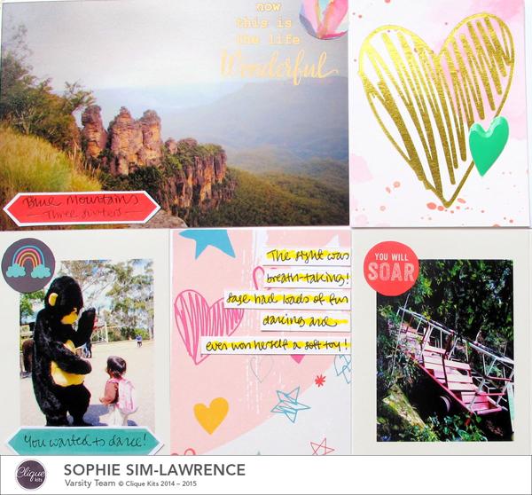 Sydney PL Detail 2, @colortypes sophie @cliquekits, #cliquekits #scrapbooking#DIY #ckhappyeverything