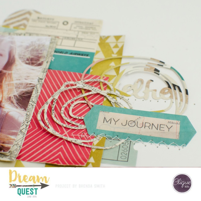 clique kits, dream quest @lillylanephoto #cratepaper #journey