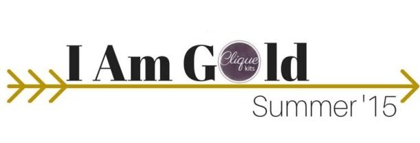 I AM Gold banner