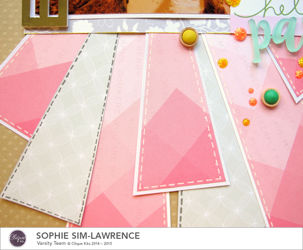 Hello Paradise 3 FN, @colortypes sophie @clique kits @pinkpaislee @colorcastdesigns, #colorcastdesigns #cliquekits #inspiration #scrapbooking # pinkpaislee #papercraft