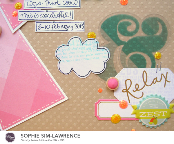 Hello Paradise 4 FN, @colortypes sophie @clique kits @pinkpaislee @colorcastdesigns, #colorcastdesigns #cliquekits #inspiration #scrapbooking # pinkpaislee #papercraft