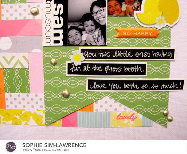 Happy 3 FN, @colortypes sophie @cliquekits, #cliquekits #ckambrosia #pinkpaislee #scrapbooking #papercraft