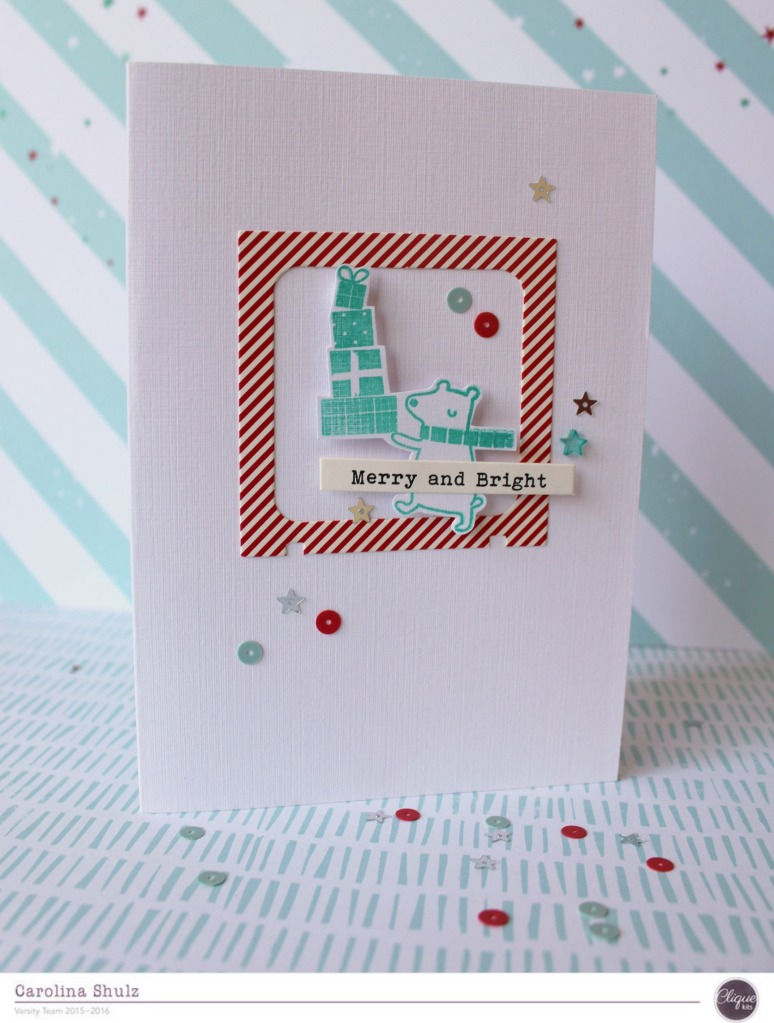 Locker Room – 2 Simple and Fast Christmas Cards | Clique Kits