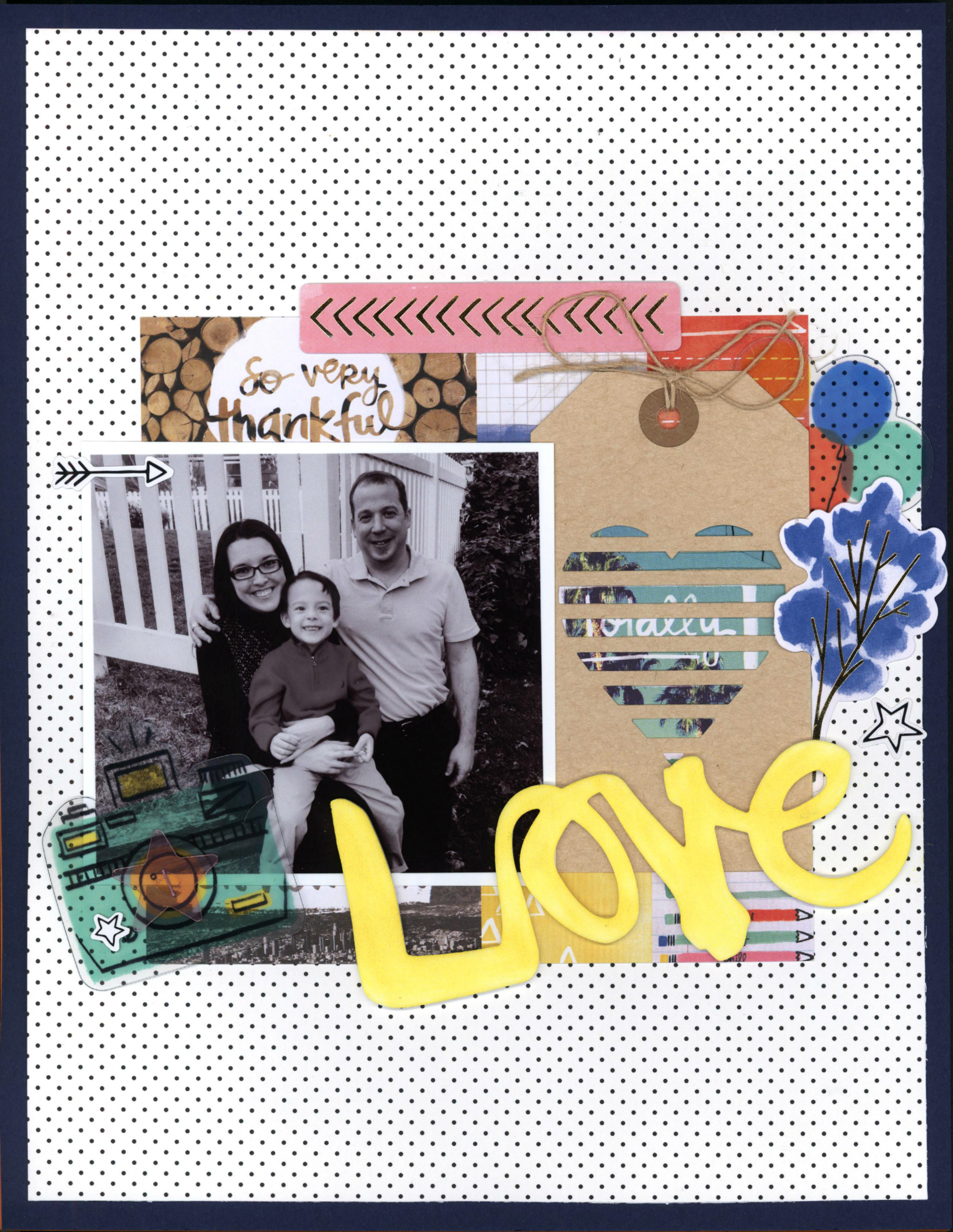 love_nicole martel_amy tangerine_american crafts_Clique Kits