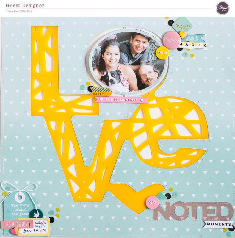 LOVE NOTED @cliquekits.com