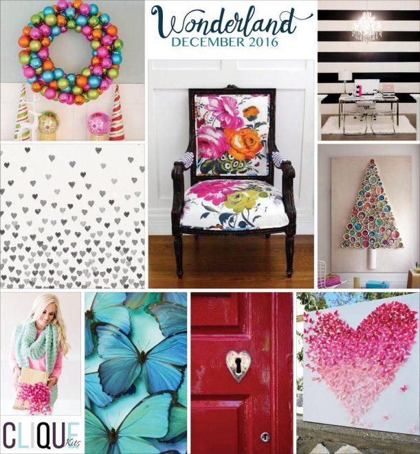 Clique Kits Mood Board Dec16