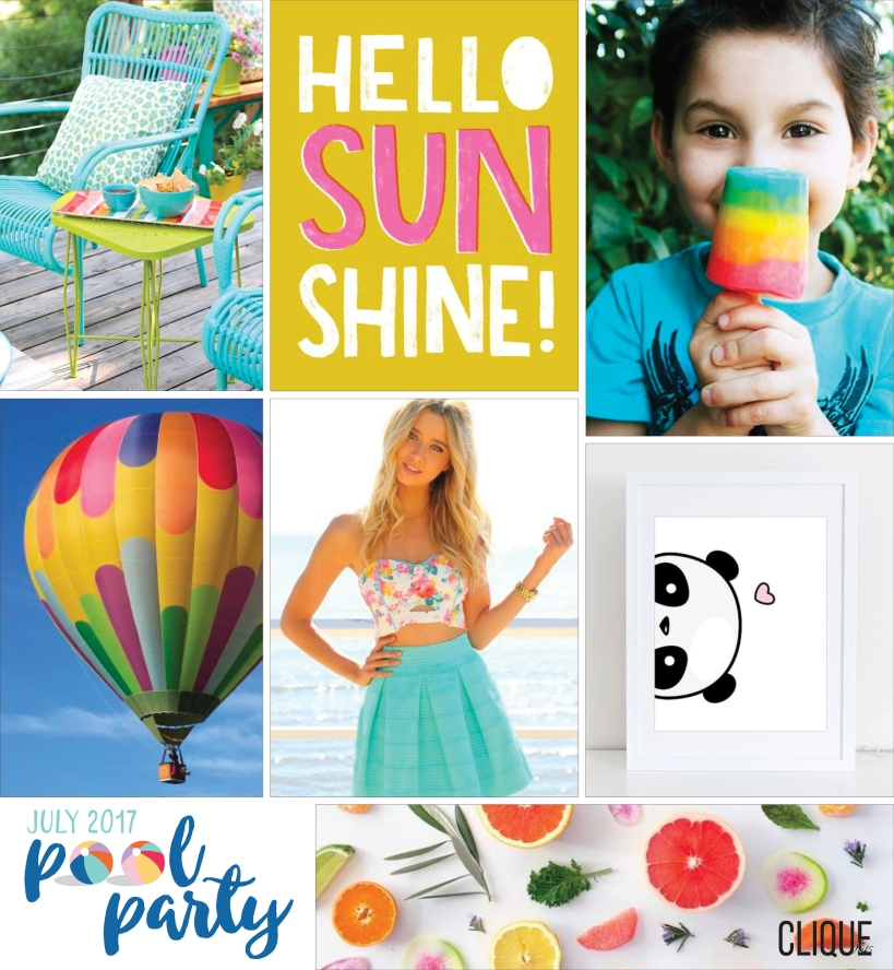 Clique Kits July Mood Board